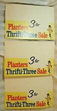New Listing3 Vintage Unused Planters Peanuts Counter Displays