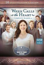 When Calls the Heart Season 6 Complete Hallmark Channel 10-DVD Set Collector's E