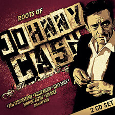 JOHNNY CASH New Sealed 2018 COUNTRY LEGENDS TRIBUTE 2 CD SET