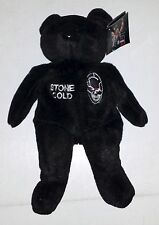 1999 WWF WWE OFFICIAL ATTITUDE BEAR SERIES ONE  - STONE COLD - FREE SHIP!