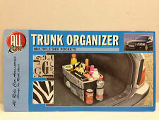 TRUNK CAR VAN BOOT ORGANISER STORAGE TWO DESIGNS MULTIPLE POCKETS CAMPING PICNIC