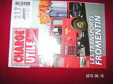 ¤¤ Charge Utile n°217 Grues Haulotte Mack No Van Hool Cirque & Boner