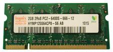 HYMP125S64CP8-S6-AB Hynix 2GB PC2-6400 DDR2-800MHz non-ECC Unbuffered CL6 200-P