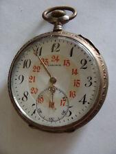 Herren Präzisions  Taschenuhr  von SAXONIA   800 Silber  Sammlerstück