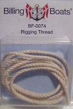 Billing Boats Accessory BF-0074 1 x Roll x 2.0mm x 75cm Rigging Thread New Pack