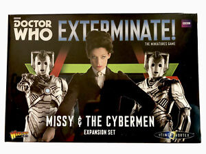 Doctor Who Exterminate - Missy & the Cybermen Expansion Set (Warlord Games)