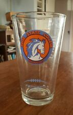 1969 -1973 Boise State College Broncos (2011 Arby's) Collector Series Glass