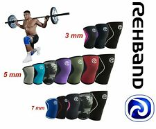 REHBAND Knee Support Protector RX Line Core Line CorssFit Knee Sleeve 3,5,7mm