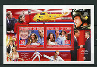 Chad Tchad 2013 MNH Birth Prince George Royal Baby 2v Deluxe M/S William & Kate