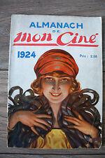 revue ancienne cinéma muet mon ciné almanach 1924