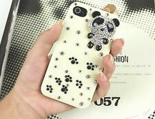 1pcs Shining Rhinestone Bear cell phone case cover Free shipping For iphone 4/4S
