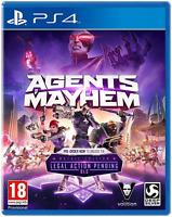 Agents of Mayhem - Day One Edition PS4 (Sony PlayStation 4, 2017) Brand New