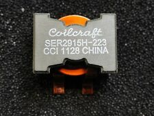 SER2915H-223KL COILCRAFT INDUCTOR PWR 22UH 30A 0.1 10MHZ ROHS 2 PIECES