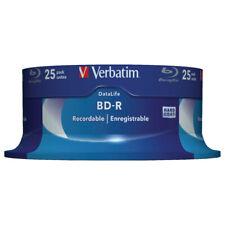BD-R SL DATALIFE 25GB 6X VERBATIM CAMPANA 25PZ 43837