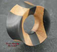 18mm tunnel Wood mixed Orecchino Piercing Maui surfista pircing orecchio