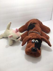 vintage 2 Pound Puppy Dog And pound Puppy Cat