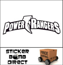 Power Rangers Decal Mighty Morphing Saban 2 JDM Red Blue Yellow Pink