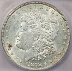 1878-P 1878 7TF Morgan $1 ICG MS61 rev. '78