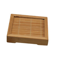 Japanese Handmade Insulation Mat Tea Cup Coaster Bowl Holder Bamboo New S