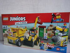 LEGO Juniors (Easy to Build ) 10734 grand chantier - Neuf et emballage d'origine