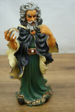 Wizard with Orb Mythical Fantasy Poly Resin 8 Inch [B2]