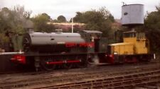 PHOTO  0-6-0 AUSTERITY WD150 'WARRINGTON' THE ONLY LOCOMOTIVE IN STEAM OR PHOTOG