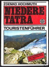 Hochmuth, Zdenko; Niedere Tatra, Touristenführer, 1975