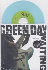 """Green Day - Waiting - Scarce USA only pale blue vinyl 7"""" (Adeline Records)"""