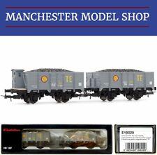 Electrotren E19020 HO 1:87 RENFE R.N. set of 2 coal wagons Era IV NEW BOXED