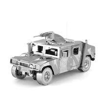 Fascinations ICONX HUMVEE Military Vehicle 3D Metal Earth Laser Cut Model Kit