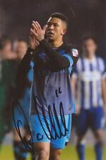 SHEFFIELD WEDNESDAY: LIAM PALMER SIGNED 6x4 ACTION PHOTO+COA