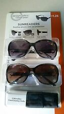 GENUINE Design Optic Sunreaders +1.25 by Foster Grant Superfast Shipping!!
