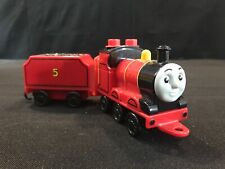 Thomas & Friends Wooden Train James the Red Engine with James' tender