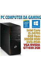 PC COMPUTER DESKTOP DA GAMING GIOCO RICONDIZIONATO / GARANZIA 1 ANNO