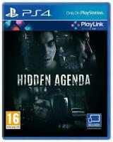 Hidden Agenda PS4 PlayLink SUBERB-TRUST NOONE-CATCH A SERIAL KILLER-DEATH AWAITS