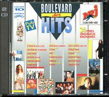 BOULEVARD DES HITS - VOLUME 10 - 1990 NRJ 2 CD COMPILATION [2675]