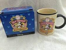 "DISNEY STORE ""MISS MINNIE'S HOME COOKING"" MUG / COFFEE CUP - NEW IN ORIGINAL BOX"