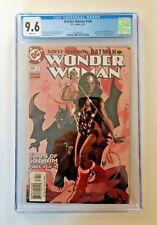 CGC 9.6 WONDER WOMAN #166 DC COMICS 3/01 ADAM HUGHES COVER