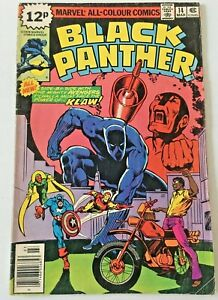 BLACK PANTHER.  NO.14. BRONZE AGE 1979.  VG.CONDITION. JERRY BINGHAM.