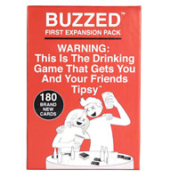 Buzzed Expansion-The Drinking Game That Gets You and Your Friends Tipsy US Stock
