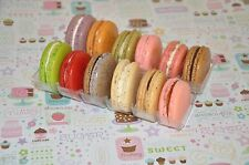 6 Flavors  French Macarons  Assorted Box Almond Cookies  , Holiday Cookie Gift