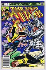 New Mutants #6 VFNM Signed w/COA Chris Claremont 1983 Marvel Newsstand Variant
