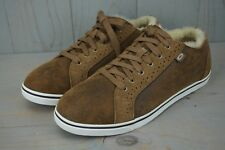 UGG ROXFORD BOMBER CHESTNUT  TWINFACE MENS SNEAKERS US 10.5 NIB