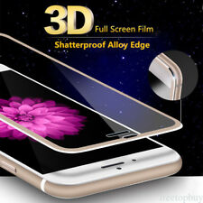For iPhone X 6 6S 7 8 Plus  Real 3D 9H Tempered Glass FUll Screen Protective SL
