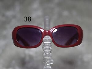 1/3 1/4 BJD SD 60cm 45 sun glasses sunglasses Dollfie Maroon dark lens Style 38