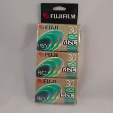 Fuji Pro VHSC VHS C 30 Minute SP New Unopened VHS-C Camcorder Tape