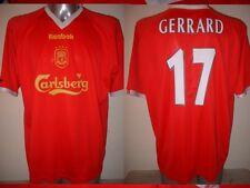 Liverpool Reebok GERRARD Adult XL Champions League Shirt Jersey Soccer Football