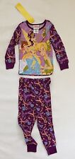 BNWT Disney Fairies Tinkerbell Girls Long PJ Pajamas Sz 2
