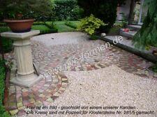 Giessformen für 17 Klosterpflaster - rustikal, zum Betonsteine selbermachen