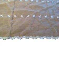 "3yd wide x 36"" long sheer chiffon organza type European fabric for wedding veil"